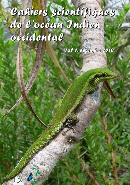 Page de couverture. Phelsuma borbonica